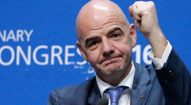 FIFA Başkanı Infantino'dan koronavirüse karşı dayanışma çağrısı