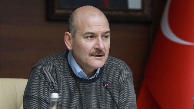İçişleri Bakanı Soylu: Toplu taşımada yüzde 90'ların üzerinde bir azalma var