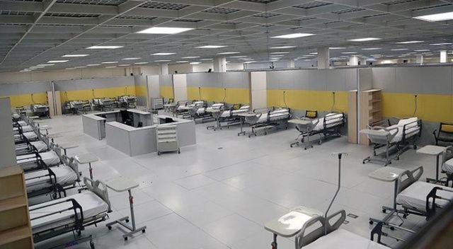 İran'da ordu koronavirüs hastaları için 2 bin yataklı hastane kurdu