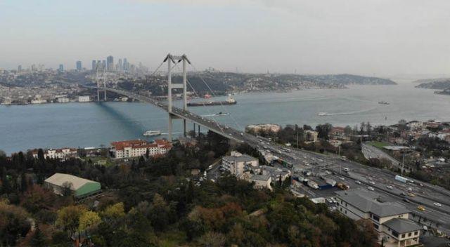 İstanbul trafiğine koronavirüs etkisi; 15 Temmuz Şehitler köprüsü boş kaldı