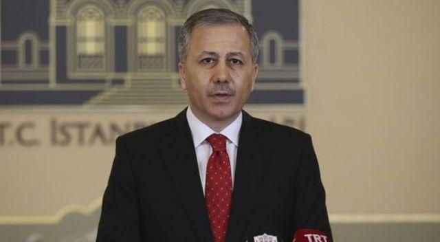 İstanbul Valisi Yerlikaya: İstanbul'un giriş ve çıkışlarında sağlık kontrolleri yapılıyor