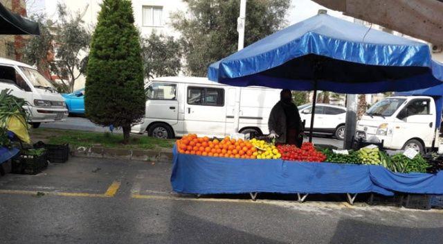 Kuşadası'nda pazar yerleri açık alana taşındı