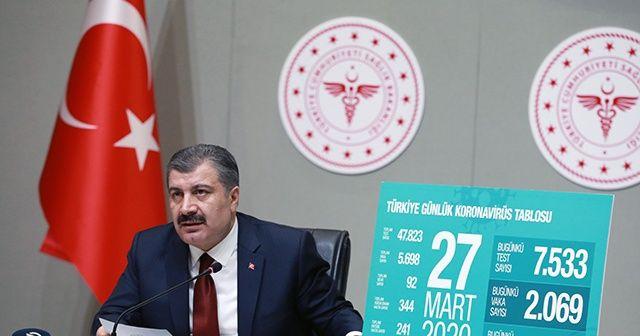 """Sağlık Bakanı Koca, """"Koronavirüs verileri yanlış"""" iddialarını yalanladı"""