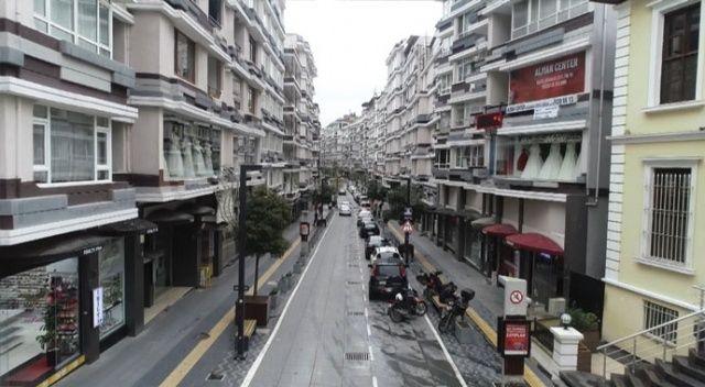 Samsun'da vatandaşlar çağrıya uydu, boş sokaklar havadan görüntülendi