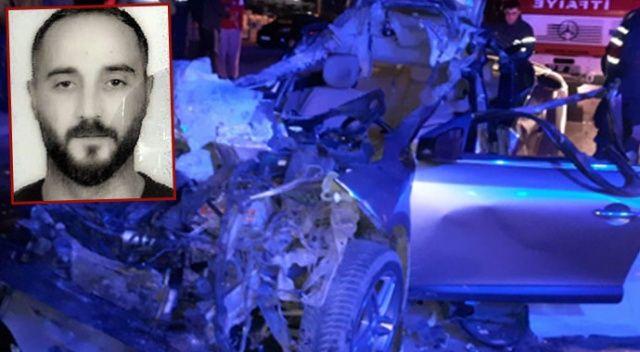 Tır'a arkadan çarpan aracın sürücüsü hayatını kaybetti