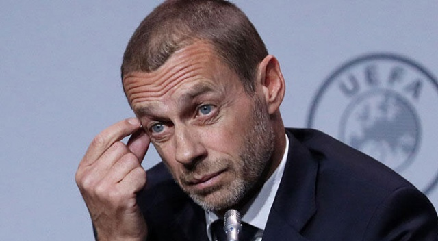 UEFA Başkanı Ceferin'den çarpıcı açıklama