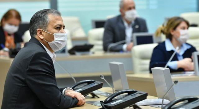 Vali Yerlikaya, Pandemi Kurulu Toplantısından fotoğraf paylaştı