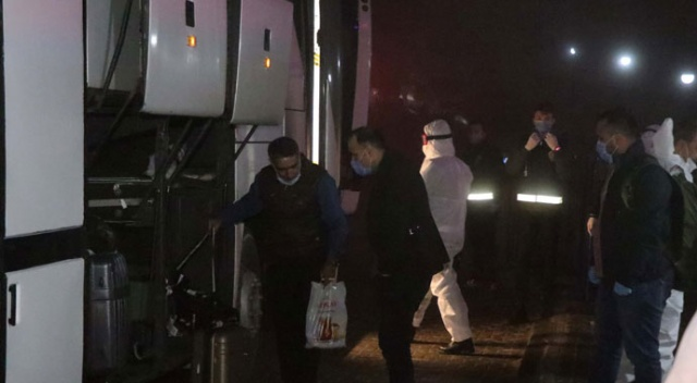 Yurt dışından gelen 130 kişi Bolu'da yurda yerleştirildi