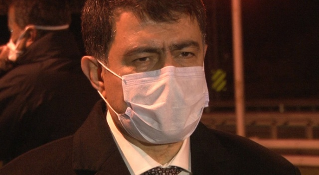 Ankara Valisi Şahin, Akıncı gişelerinde korona önlemlerini denetledi