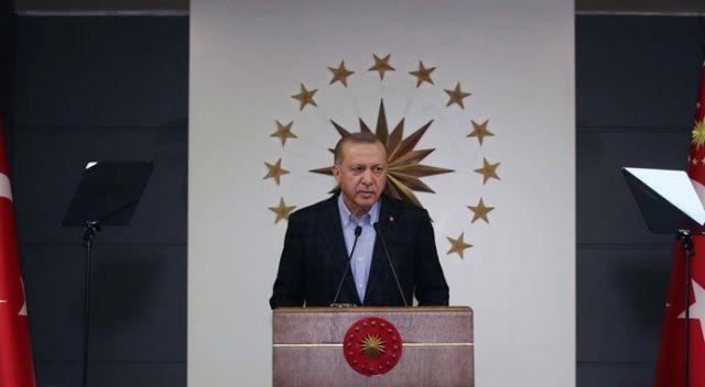 Cumhurbaşkanı Erdoğan: Biraz daha sabredin, bunu da aşacağız