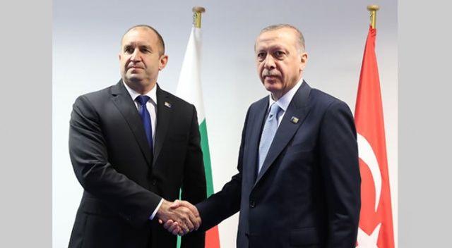 Cumhurbaşkanı Erdoğan, Bulgar mevkiidaşı ile telefonda görüştü