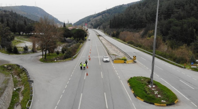 Giriş çıkışlar kapandı, İzmir-İstanbul yolu boş kaldı!