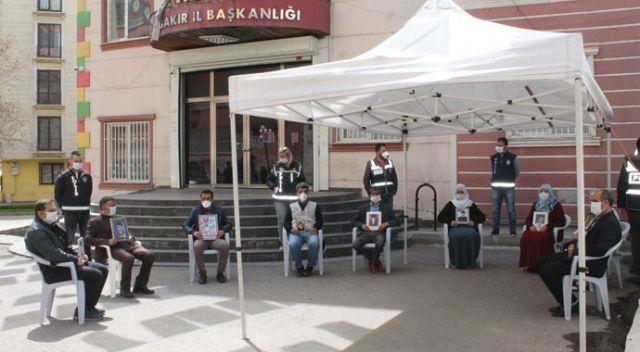 HDP önündeki ailelerin evlat nöbeti 218'inci gününde