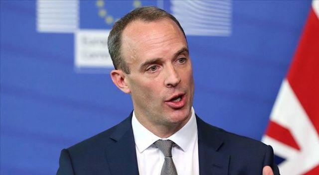 İngiltere Dışişleri Bakanı Raab: Tüm planlar olduğu gibi devam edecek