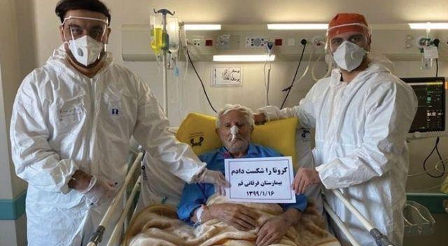 İran'da 106 yaşındaki hasta koronavirüsü yendi