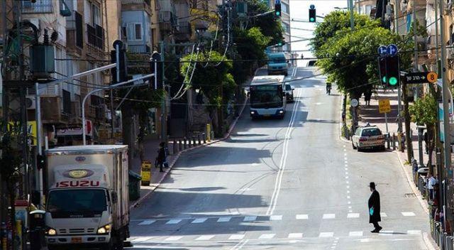 İsrail'de Covid-19 nedeniyle kısa süreli sokağa çıkma yasağı ilan edildi