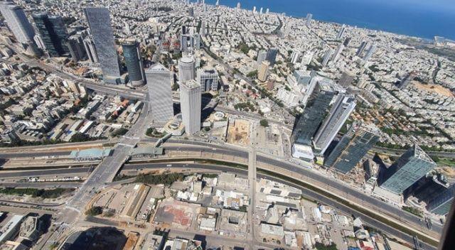 İsrail'de yasağın ardından sokaklar boş kaldı