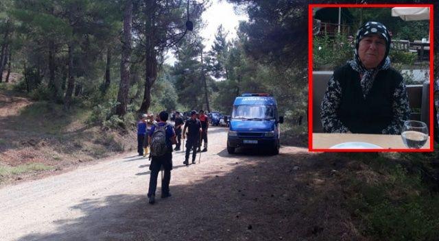 Jandarma ekipleri 8 ay sonra yaşlı kadının cansız bedenini buldu