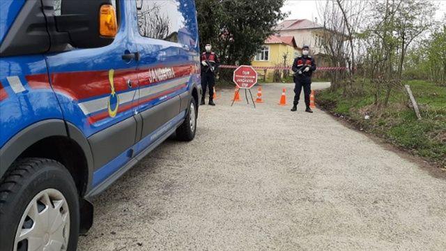 Kastamonu'da köylerden il merkezi ve ilçelere gelişler yasaklandı