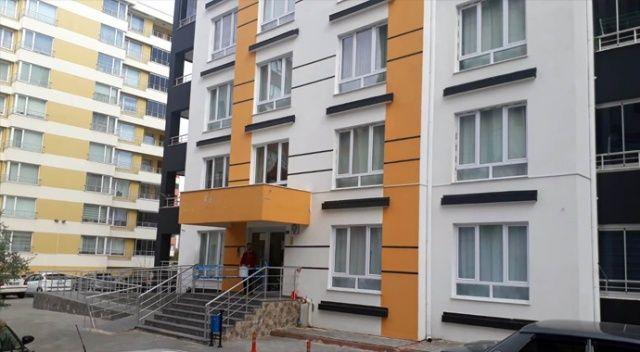 Kayseri'de 9 katlı bir bina karantinaya alındı