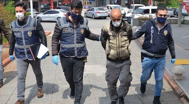 Koronavirüs nedeniyle kapanan kafelerden televizyon çalan şüpheli tutuklandı