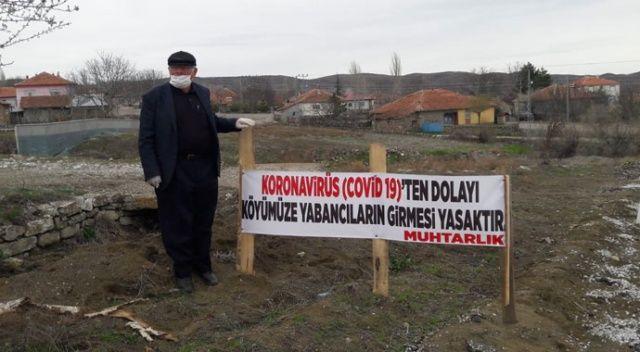Koronavirüs vakası olmayan köylerine giriş yasağı koydular