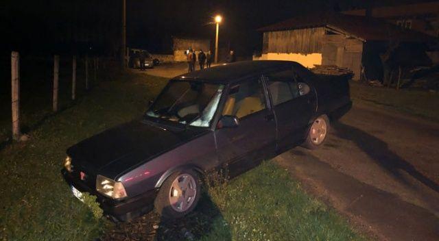 Polisin dur ihtarından uymayan şüpheli araç sürücüsü yaya olarak izini kaybettirdi
