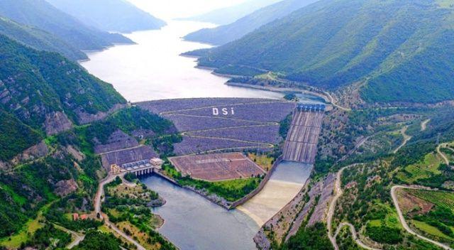 Samsun'daki barajların aktif doluluk oranı yüzde 69,5