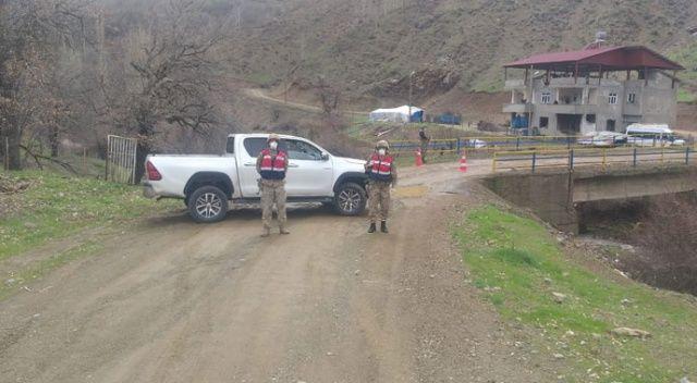 Siirt'te 2 köy ve 3 mezra koronavirüs nedeniyle karantinaya alındı
