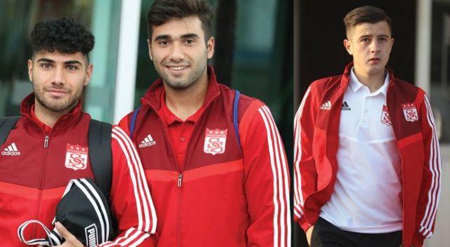 Sivasspor'da 3 futbolcuya sokağa çıkma yasağı!