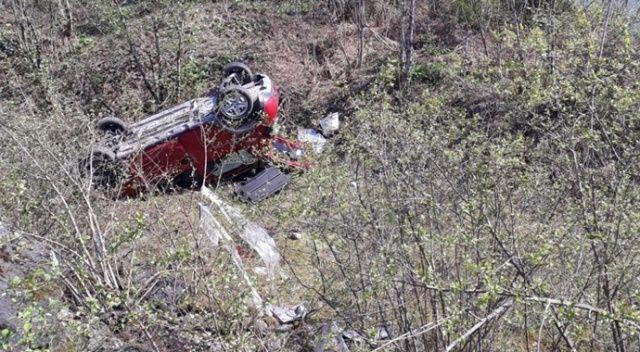 Sokağa çıkma yasağını ihlal eden 79 yaşındaki kişi trafik kazasında yaralandı