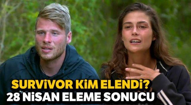 Survivor kim elendi, kim gitti? 28 Nisan Survivor kim veda etti? (Survivor elenen isim kim )