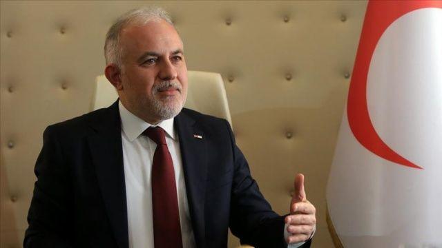 Türk Kızılay Genel Başkanı Kınık'tan 'immün plazma' yöntemi için bağış çağrısı