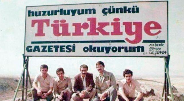 """TÜRKİYE GAZETESİ """"HAKİKAT"""" İSMİYLE 22 NİSAN 1970'TE ÇIKTIĞI GÜN…"""
