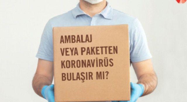 Virüs kargo paketinden bulaşır mı?