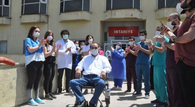 48 gündür koronavirüs tedavisi gören hasta taburcu edildi