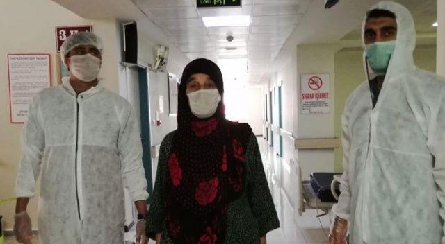 70 yaşındaki hasta koronavirüsü yendi, hastanede pozitif vaka kalmadı