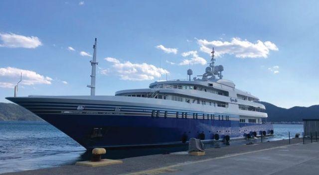92 metrelik mega yat Marmaris'te 550 bin TL değerinde  yakıt aldı