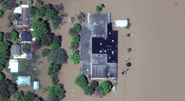 ABD'de son 500 yılın en büyük su baskını