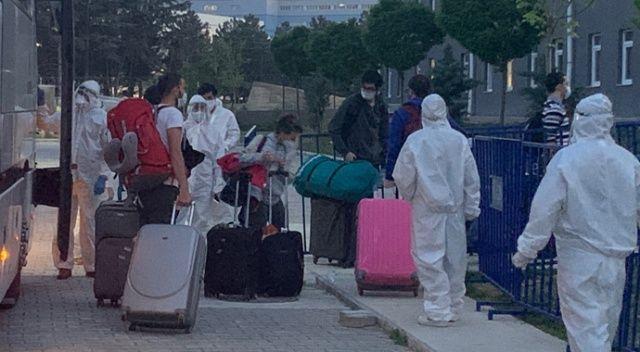 ABD'den gelen 147 Türk vatandaşı Isparta'da karantinaya alındı