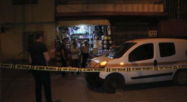 Adana'da bakkala silahlı saldırı: 2 yaralı