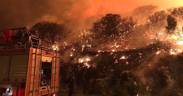 Antalya'nın Kaş ilçesindeki orman yangını kontrol altına alındı
