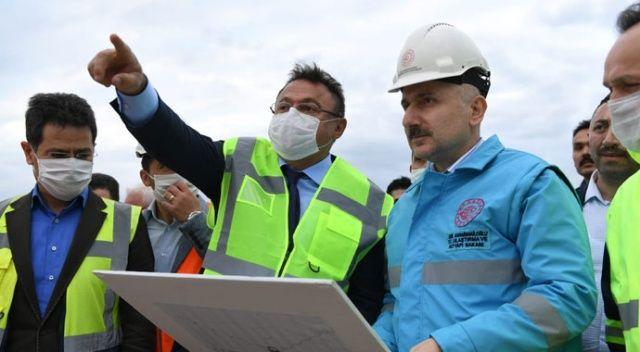Bakan Karaismailoğlu: Ankara-Sivas YHT hattını 2020 yılı içerisinde hizmete almayı planlıyoruz