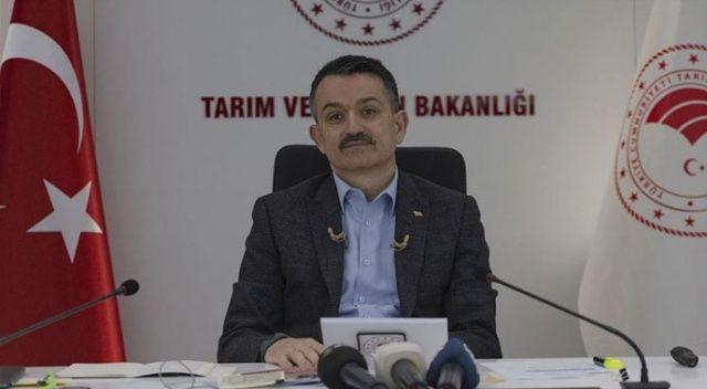 Bakan Pakdemirli: Dijital Tarım Pazarı'na 4 binden fazla çiftçimiz kayıt oldu