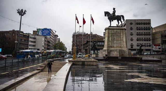 Başkentte kuvvetli rüzgar beklentisi nedeniyle sarı uyarı