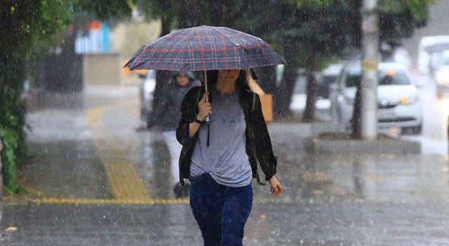 Batı Karadeniz ve Ankara için kuvvetli yağış uyarısı