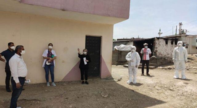 Bir köy koronavirüs tedbirleri kapsamında karantinaya alındı