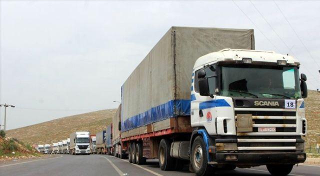 BM'den İdlib'e 80 tır insani yardım