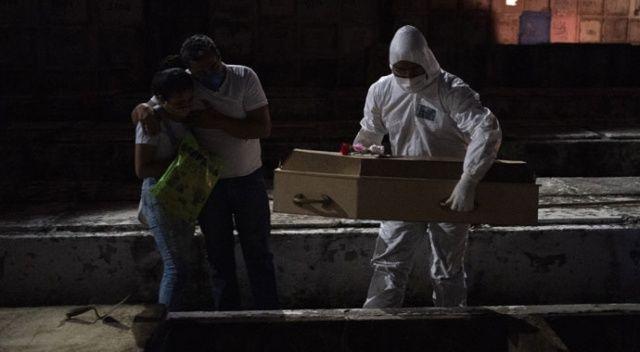 Brezilya'da bilanço ağırlaşıyor: Son 24 saatte bin 156 ölü