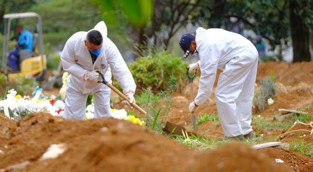 Brezilya'da Covid-19 nedeniyle ölenlerin sayısı 22 bin 666'ya yükseldi